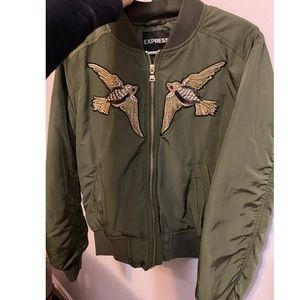 Express bomber jacket